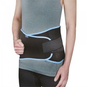 Бандаж для поясницы со стабилизирующими ребрами жесткости