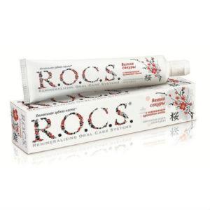 Зубная паста R.O.C.S. Ветка Сакуры с освежающим ароматом мяты